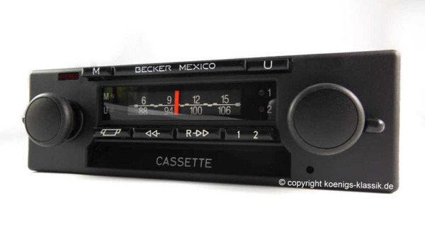 Becker Mexico Cassette Vollstereo Autoreverse for BMW M1