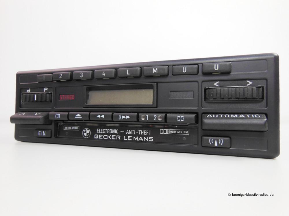 becker le mans cassette electronic f r bmw k nigs. Black Bedroom Furniture Sets. Home Design Ideas