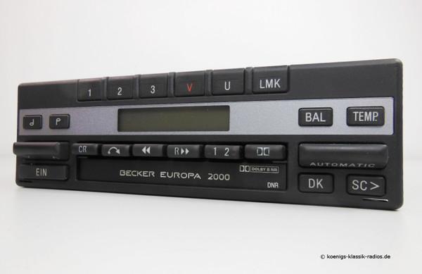 Becker Europa 2000 BE 1241 in 24 Volt für LKW und Busse