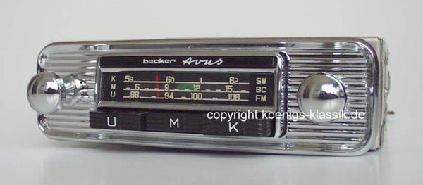 Becker Avus Universalgerät Typ 1