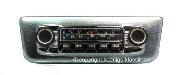 Blaupunkt Frankfurt for Peugeot 404 Coupe and Cabriolet