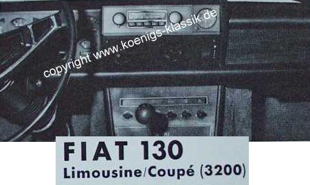 Blaupunkt Frankfurt für Fiat 130