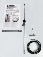 Hirschmann rod aerial special for Porsche 911/912, chrome