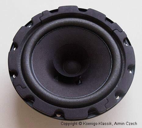 Rear loudspeaker 13 cms, #3014