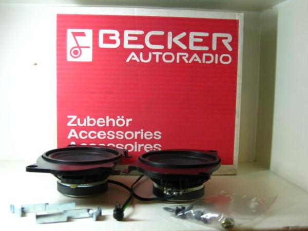 Becker Lautsprecher Einbausatz für Mercedes Benz W126