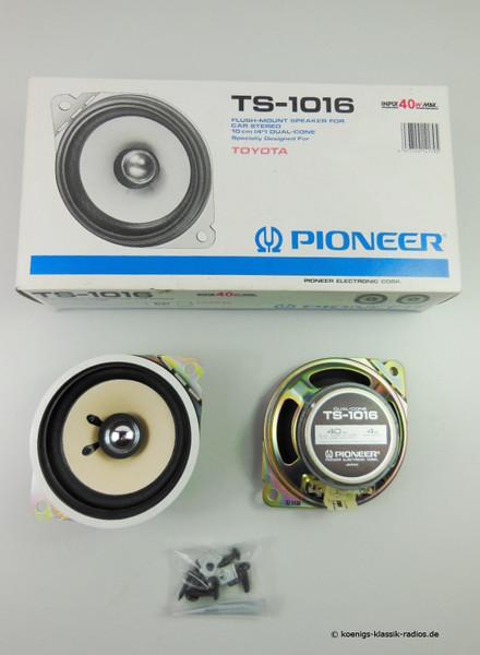 Pioneer Lautsprecher-Set TS-1016 - Ø 10,2 cm