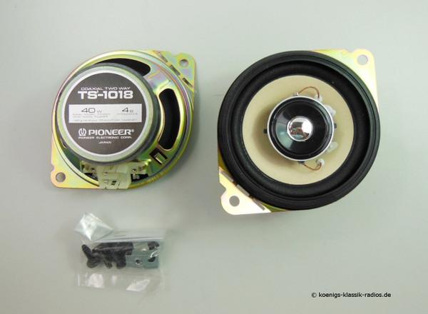 Pioneer universal Lautsprecher Set TS-1018- Ø 10,0 cm, 2 Wege