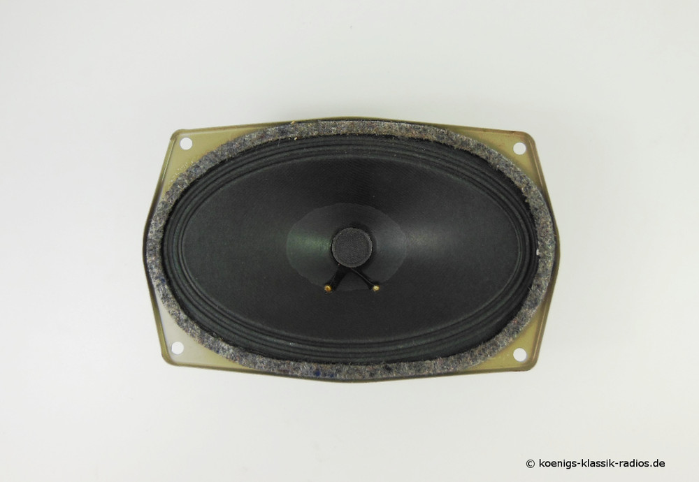 Universal speaker for vehicles of the 60 / 70s