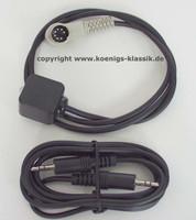 Adapterkabel Stereo für MP3, Ipod etc.