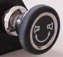 Becker Überblendregler (stereo) für Mercedes mit Knopf-Drehregler