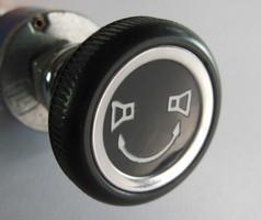 Überblendregler (mono) für Mercedes Benz mit Knopf-Drehregler