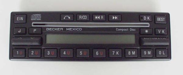 Aufsatz mit Display Becker Mexico Compact Disc 860
