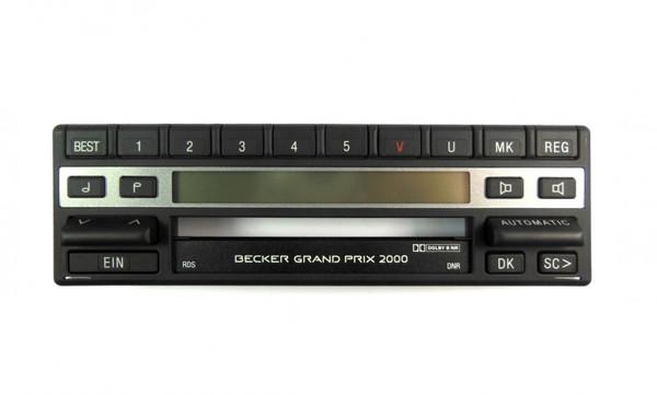 Aufsatz mit Display Becker Grand Prix 2000 Typ 1302