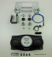Blaupunkt radio installation kit for Porsche F modell 911/912