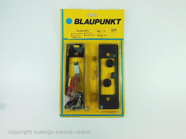 Original Blaupunkt Radio Einbausatz für Audi 100 #B07