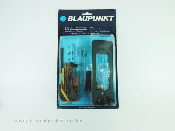 Original Blaupunkt Radio Einbausatz für Fiat 131, Panda, Lancia etc. #B12