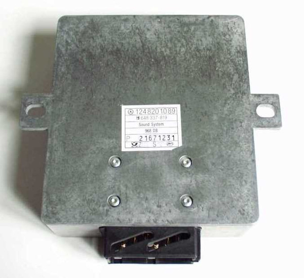 Becker Soundsystem Verstärker Mercedes 124 | DB-Nr. 1248201089