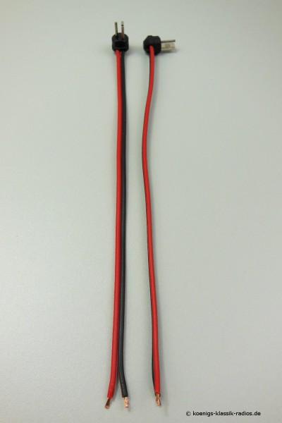 Lautsprecherstecker passend für viele Hersteller (Paar)