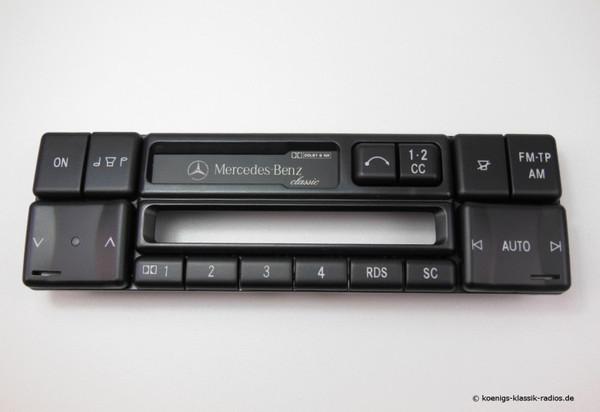 Becker Frontbedienteil ohne Elektronik für MB Classic 1150 (#1172.115-256)