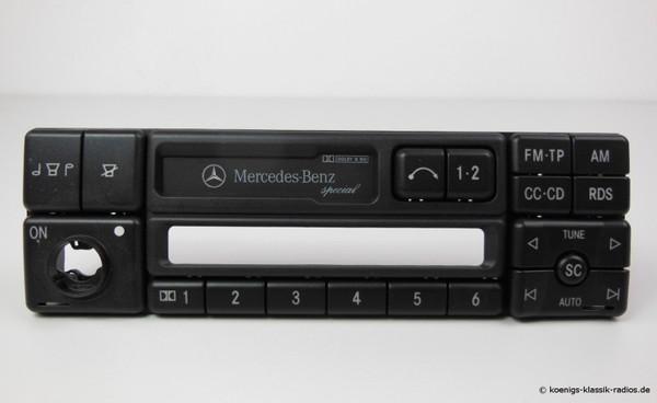 Becker Radio-Frontbedienteil o. Elektronik für Mercedes Benz Special 1350 #36177