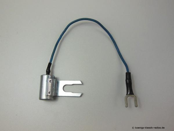 Suppression capacitor µF 0,5 metal