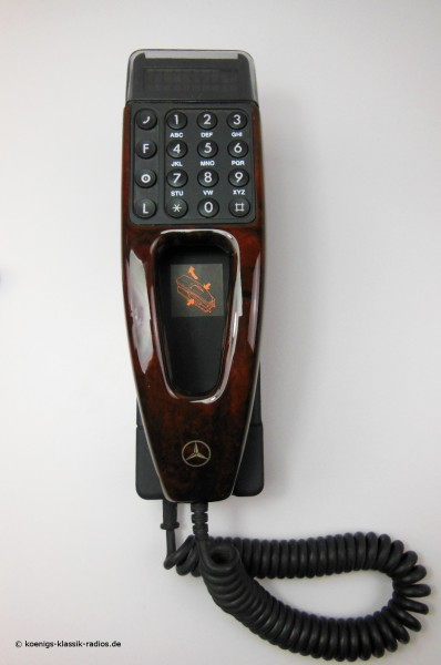 Phone keypad for Mercedes Benz cars of the 90s, root w.