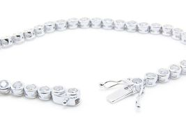 Tennisarmband aus Silber