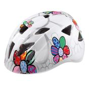 Alpina Kinder-Fahrradhelm ALPINA XIMO FLASH Gr. 45-54 cm, white flower