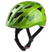 Alpina Kinder-Fahrradhelm ALPINA XIMO FLASH Gr. 45-54 cm, green dino