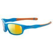UVEX Fahrradbrille Sportbrille Sonnenbrille sportstyle 507 blue-orange