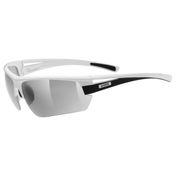 UVEX Fahrradbrille Sportbrille Sonnenbrille GRAVIC white-black mat