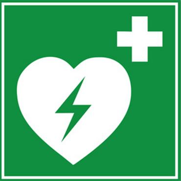 Defibrillator Kunststoff