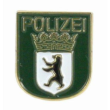Hoheitsabzeichen Polizei Anstecker Pin (grün)