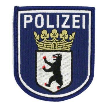POLIZEI Hoheitsabzeichen Aufnäher (blau)