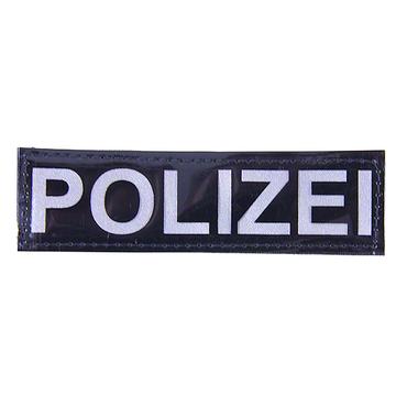 Reflektorstreifen POLIZEI (13x4 cm)
