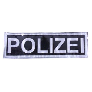 Reflektorstreifen POLIZEI (32x10 cm)
