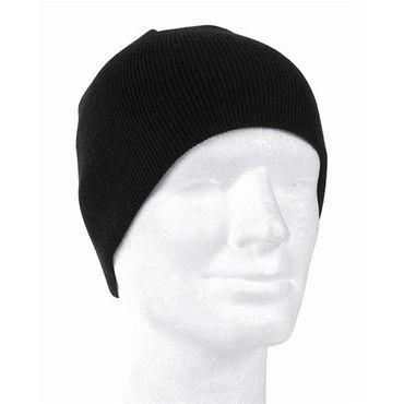 Mil-Tec Beanie Mütze schwarz