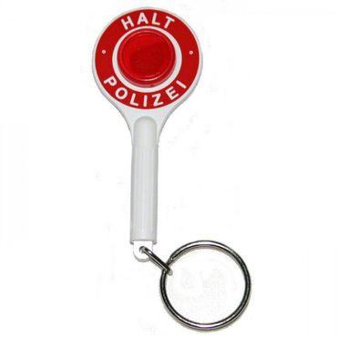 Schlüsselanhänger Anhaltekelle Polizei