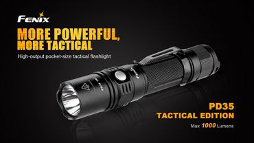 Fenix PD 35 Tac Tactical Edition Taschenlampe