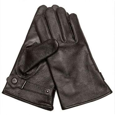 Bundeswehr BW Lederhandschuhe schwarz