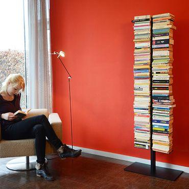 Radius Booksbaum Regal mit Stand schwarz gross - 717 A – Bild 3