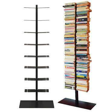 Radius Booksbaum Regal mit Stand schwarz gross - 717 A – Bild 1