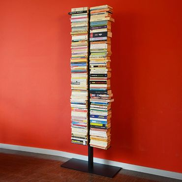 Radius Booksbaum Regal mit Stand schwarz gross - 717 A – Bild 4