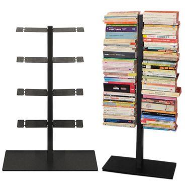 Radius Booksbaum Bücherregal mit Stand klein schwarz - 716 a