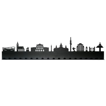 Radius Städte Garderobe Stadt Hannover schwarz 19 Haken - 709 r – Bild 2