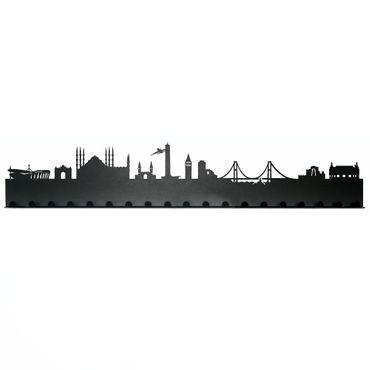 Radius Städte Garderobe Stadt Istanbul schwarz 19 Haken - 709v1 – Bild 2