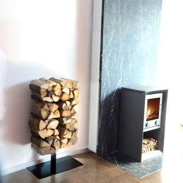 Radius Kaminholzständer Stand schwarz klein Firewood Tree - 730 a – Bild 3