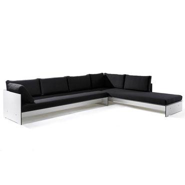 Conmoto Riva Lounge - Kombination 1 / A weiss - Sitzgarnitur - 320 cm x 240 cm mit Chaiselongue – Bild 1