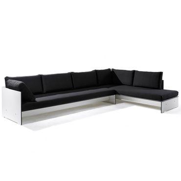 Conmoto Riva Lounge  - Kombination 3 / C weiss - Sitzgarnitur - 320 cm x 200 cm – Bild 1