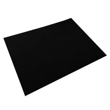 daff Tischset 33x45 schwarz, Filzset aus 100% Wolle (Merinowolle)